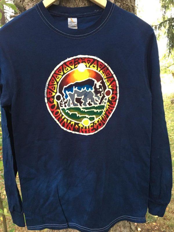 Donna The Buffalo Batik Long Sleeve Shirt