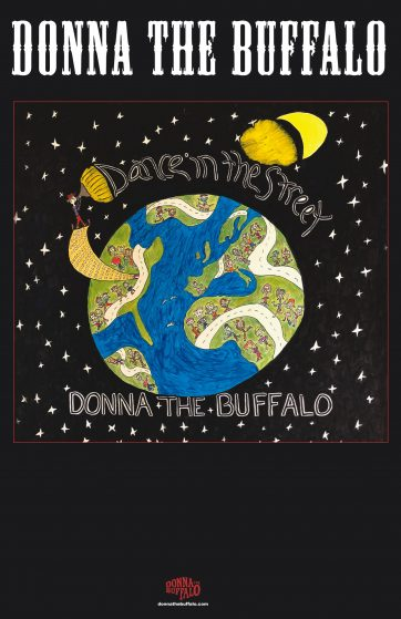 Donna The Buffalo - Blank Flyer
