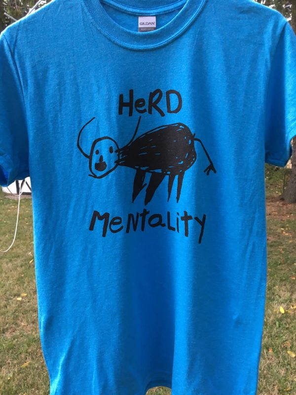 Herd Mentality Donna The Buffalo Shirt
