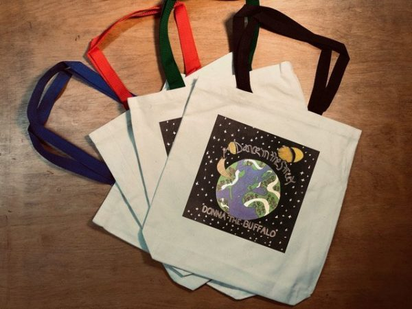 Donna The Buffalo Tote Bags
