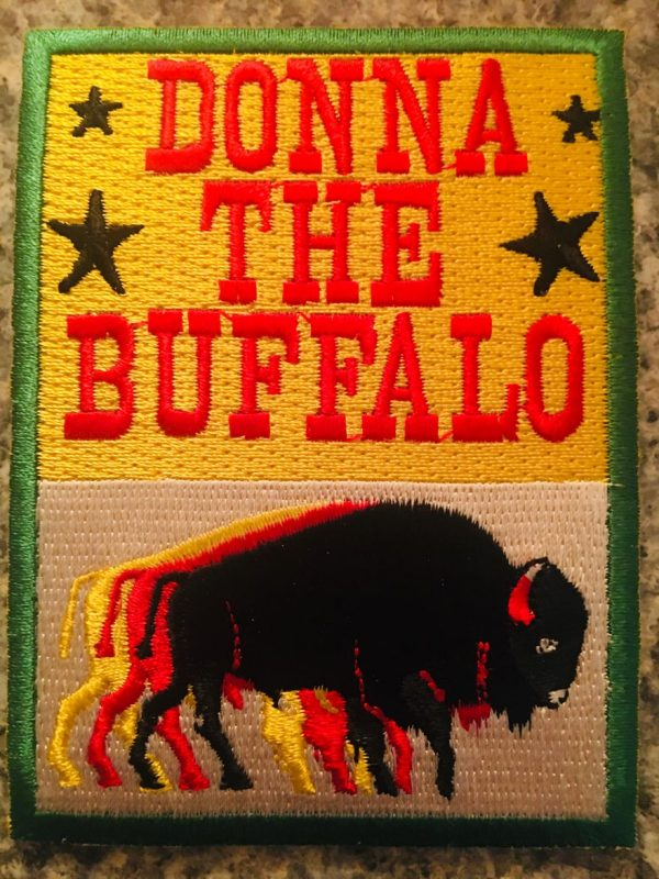 Donna The Buffalo Patch