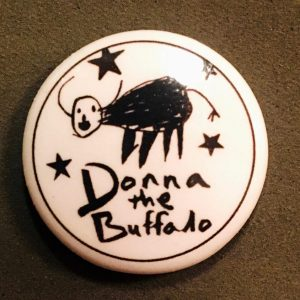 Donna The Buffalo Button